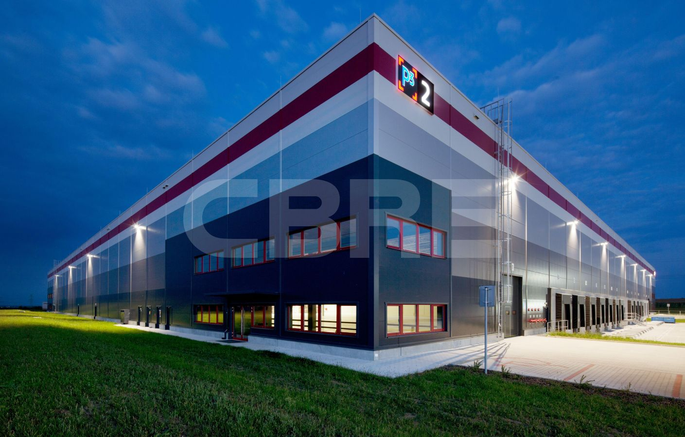 P3 Lozorno - DC 2, Bratislavský kraj, Lozorno | Prenájom a predaj skladov a výrobných hál od CBRE | 2