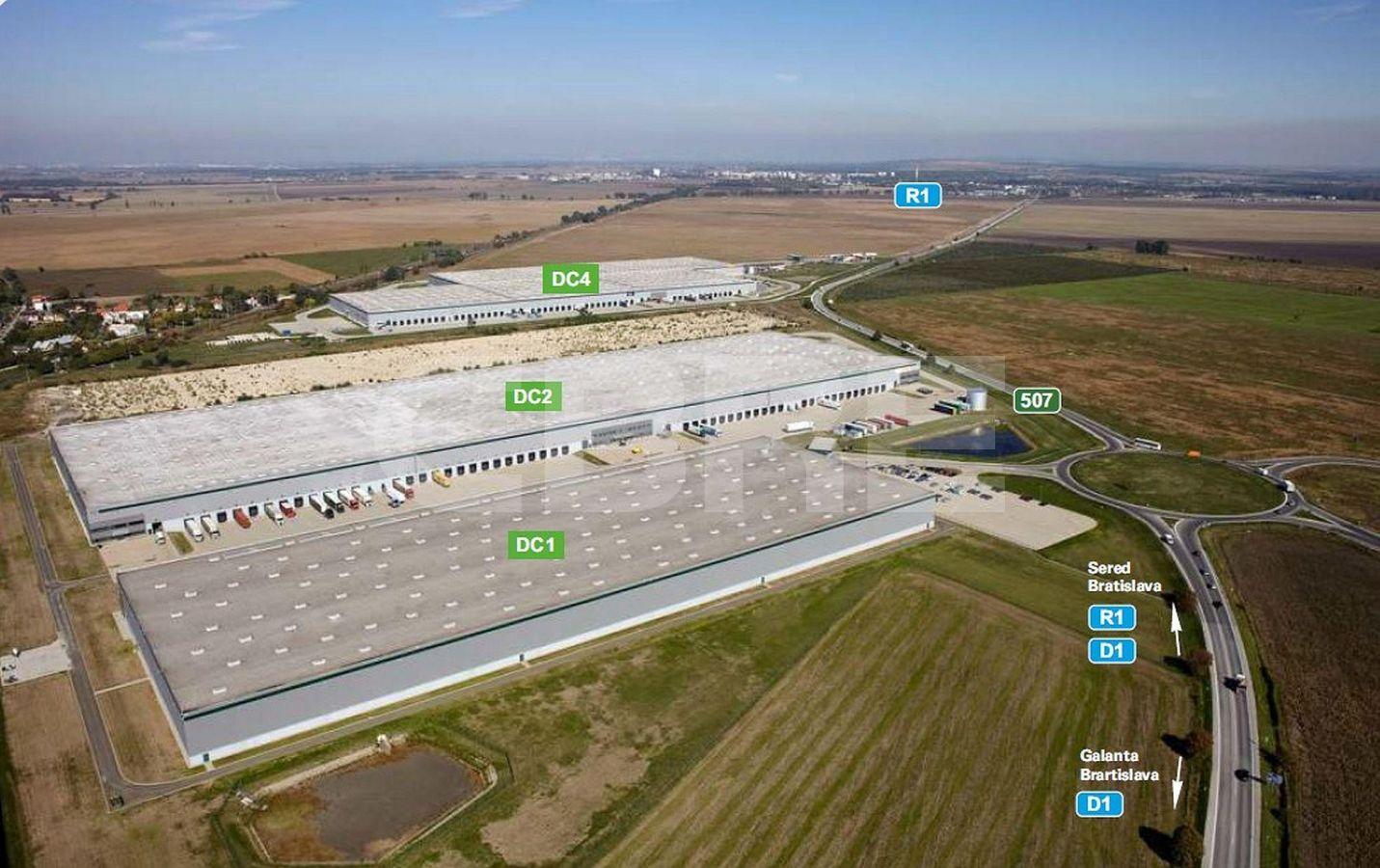 CNIC Park Galanta - DC1, Trnavský kraj, Galanta | Prenájom a predaj skladov a výrobných hál od CBRE | 2