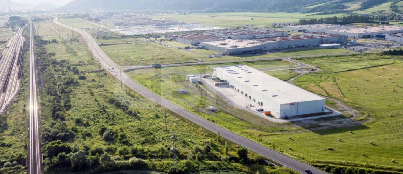 ctPark Zilina - ZG1, Žilinský kraj, Gbeľany   Prenájom a predaj skladov a výrobných hál od CBRE
