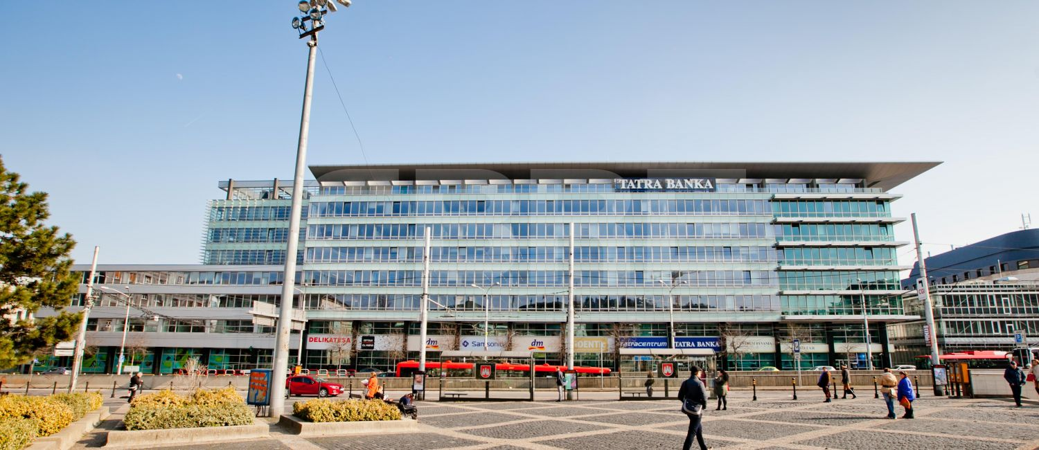 Tatracentrum, Bratislava - Staré Mesto | Offices for rent by CBRE