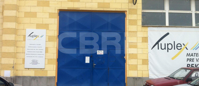 Turbínová. Bratislava III. - 980 m2, Bratislavský kraj, Bratislava | Prenájom a predaj skladov a výrobných hál od CBRE