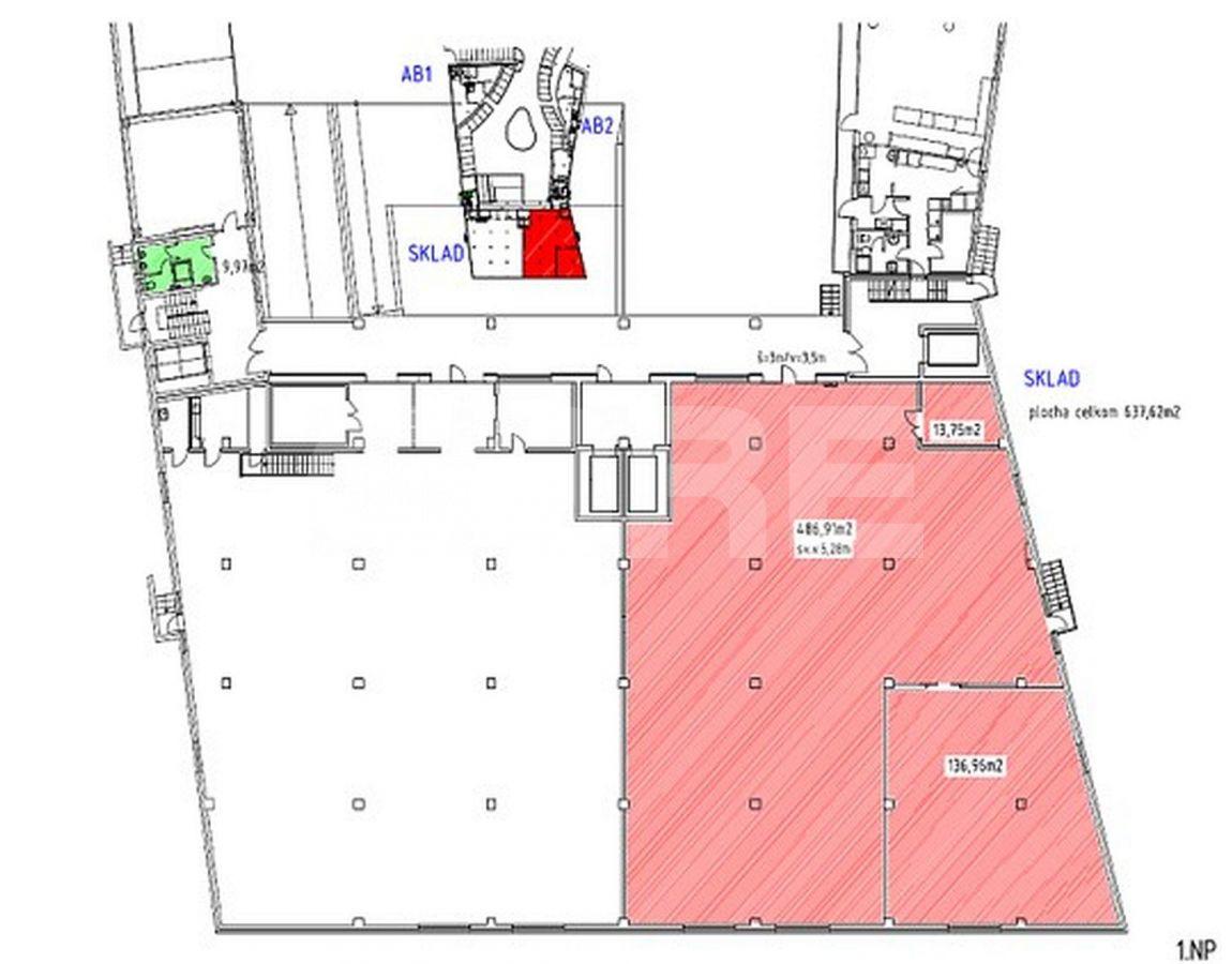 Elektrárenská, Nové Mesto, Bratislava III - 638 m², Bratislavský kraj, Bratislava | Prenájom a predaj skladov a výrobných hál od CBRE | 2