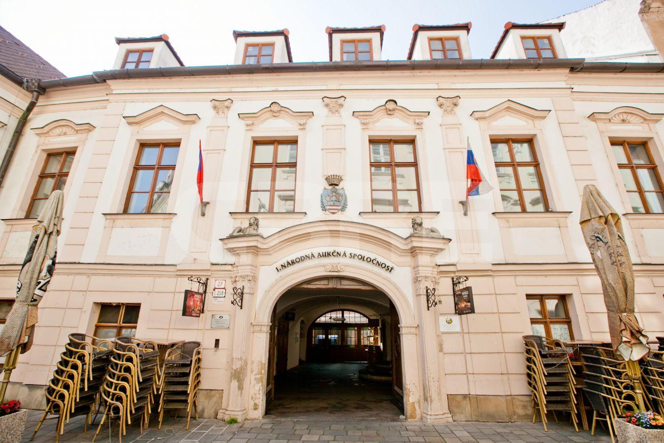 Keglevichov palác - Panská 27, Bratislava - Staré Mesto | Prenájom kancelárií od CBRE | 2