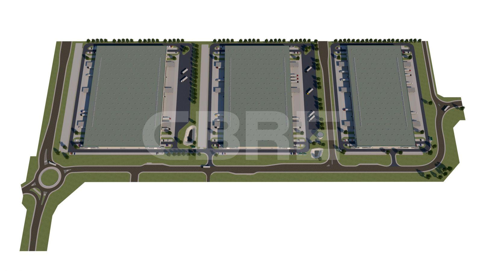 CGL Park Nitra - DC1, Nitriansky kraj, Nitra | Prenájom a predaj skladov a výrobných hál od CBRE | 1