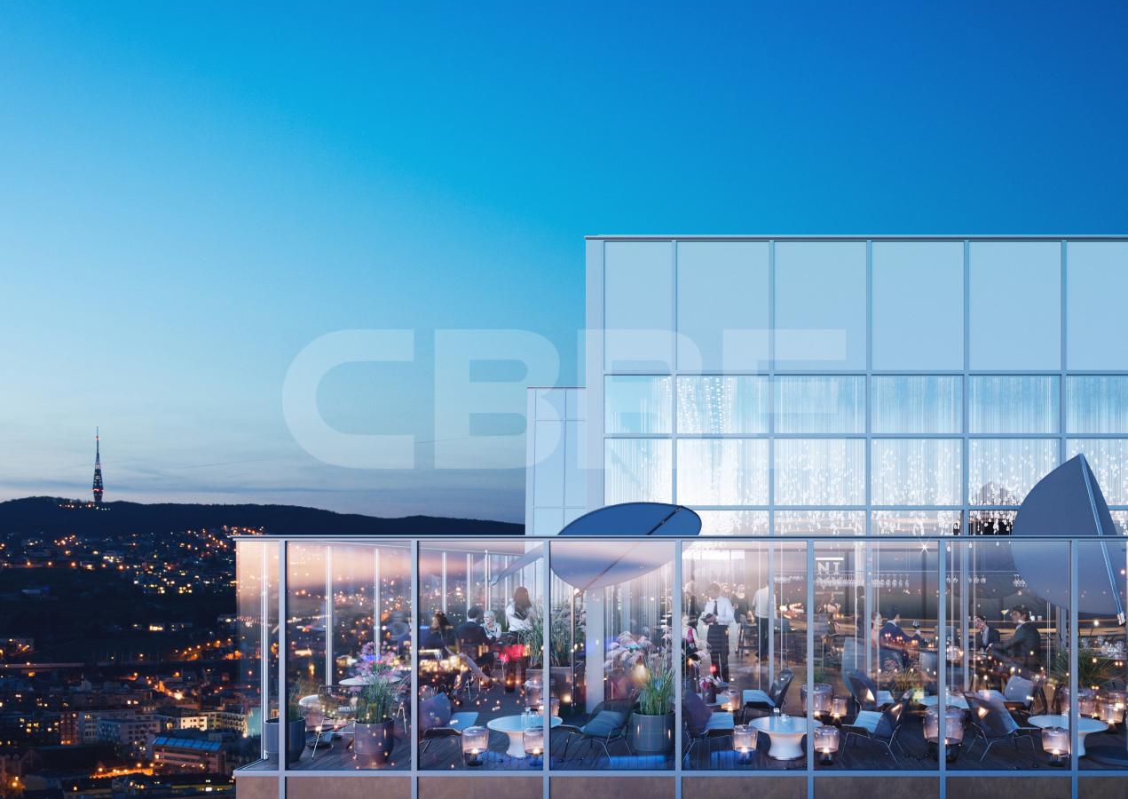 Nivy Tower, Bratislava - Ružinov | Prenájom kancelárií od CBRE | 1