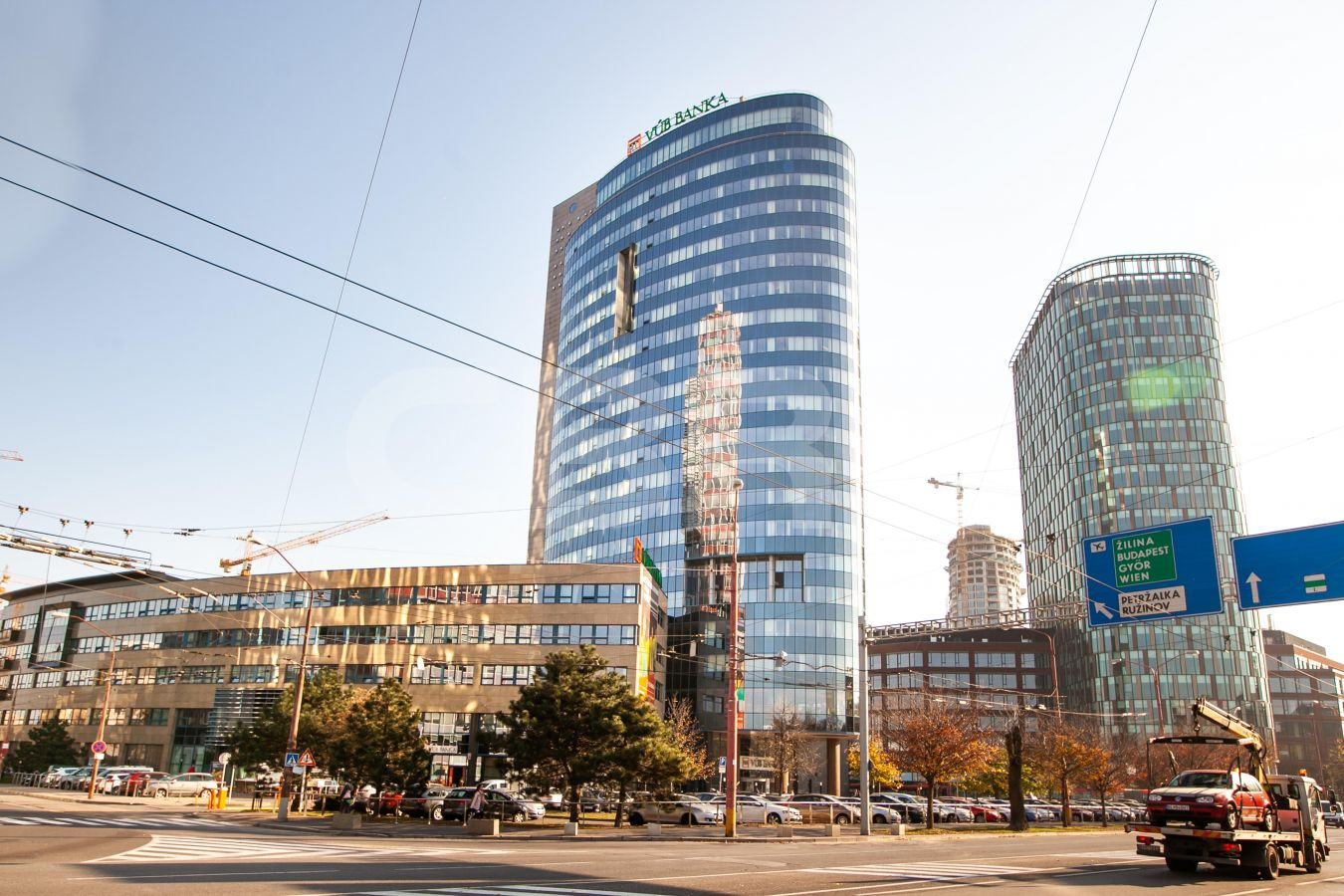 VUB Tower, Bratislava - Staré Mesto | Offices for rent by CBRE | 1