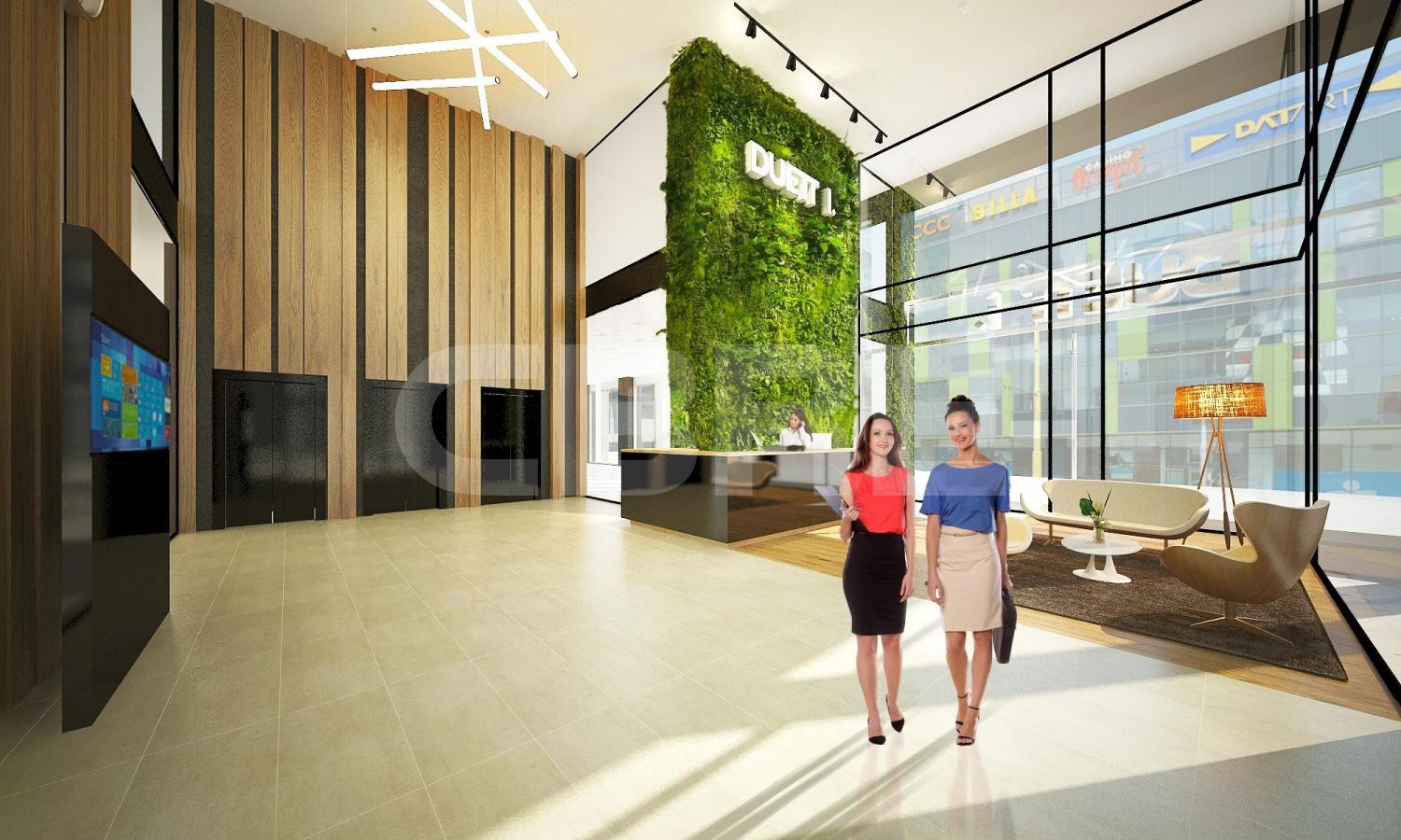 Duett Business Residence II, Košice - Staré Mesto | Offices for rent by CBRE | 2