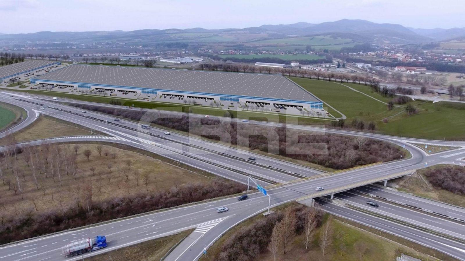 Sihot Park Chocholna - DC1, Trenčiansky kraj, Trenčín | Prenájom a predaj skladov a výrobných hál od CBRE | 7