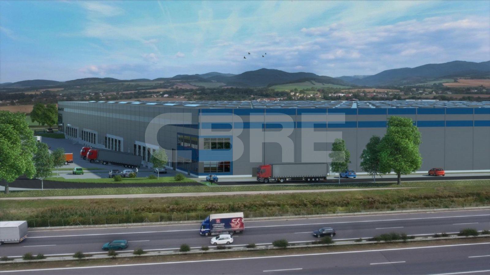 Sihot Park Chocholna - DC1, Trenčiansky kraj, Trenčín | Prenájom a predaj skladov a výrobných hál od CBRE | 8