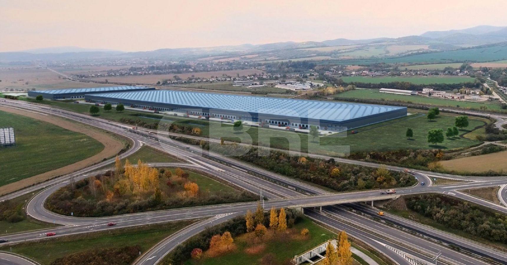 Sihot Park Chocholna - DC1, Trenčiansky kraj, Trenčín | Prenájom a predaj skladov a výrobných hál od CBRE | 9