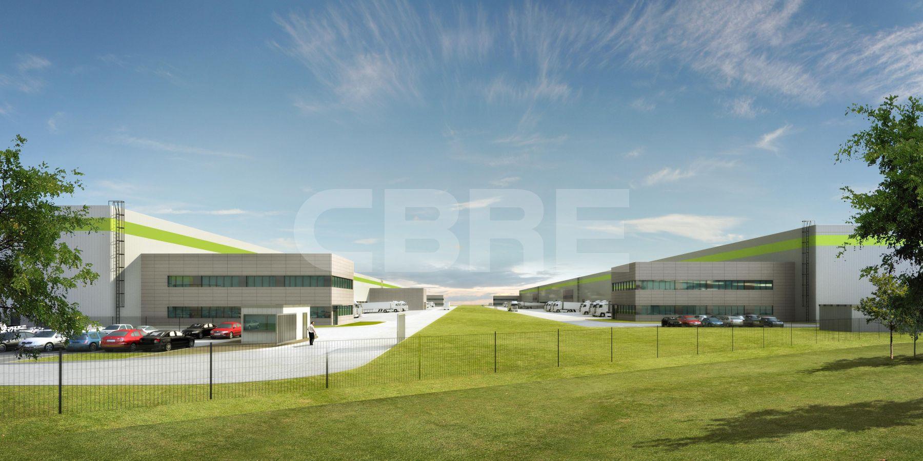 LOG CENTER R7 - Hall 1, Trnavský kraj, Kostolné Kračany | Prenájom a predaj skladov a výrobných hál od CBRE | 4