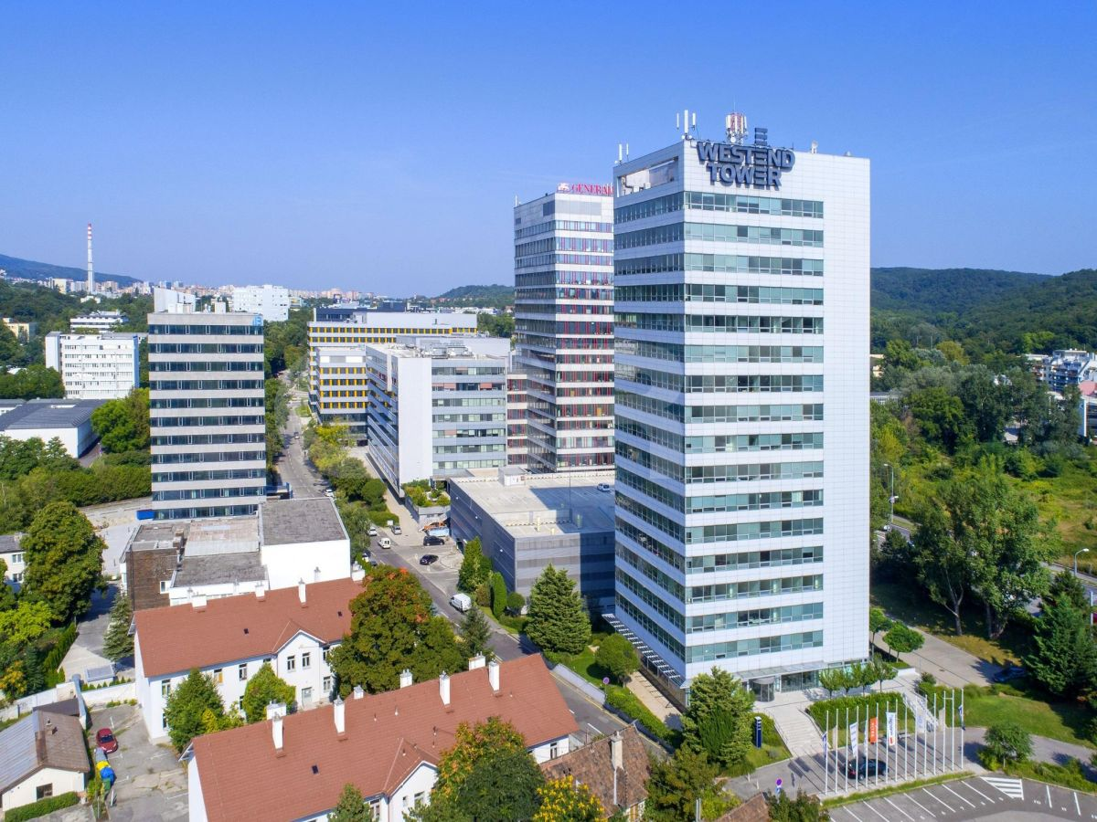 Westend Tower, Bratislava - Karlova Ves | Offices for rent by CBRE | 2