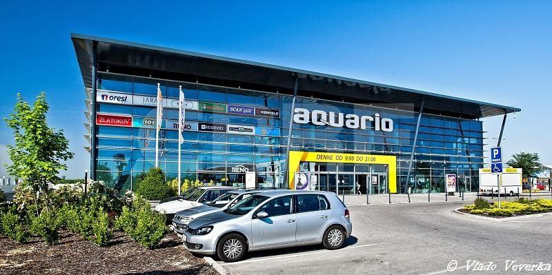 Aquario Shopping Center, Nitra Region, Nové Zámky   Retails for rent or sale by CBRE   2
