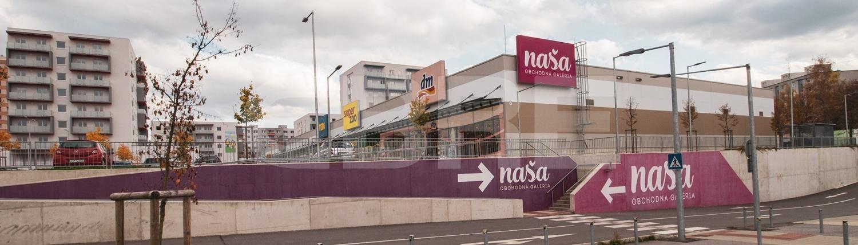 Obchodná Galéria Naša, Žilinský kraj, Žilina | Retails for rent or sale by CBRE