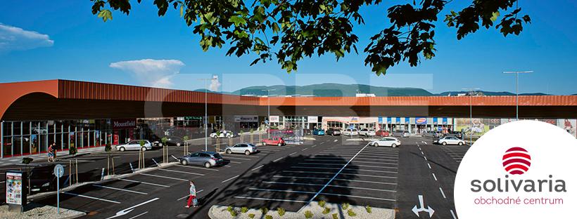 OC Solivaria, Prešovský kraj, Prešov | Retails for rent or sale by CBRE