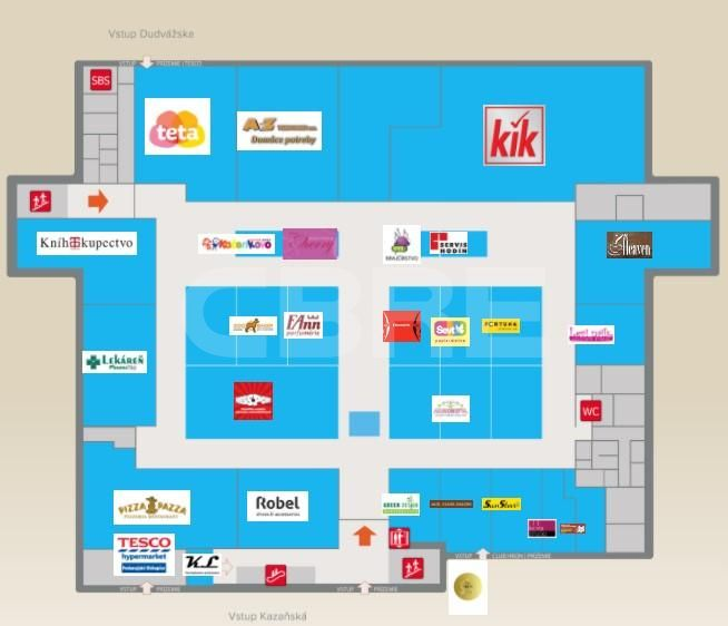 NC Hron, Bratislavský kraj, Bratislava - Podunajské Biskupice | Retails for rent or sale by CBRE | 1